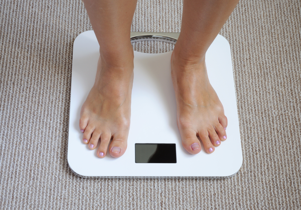 体重計に乗る ダイエット