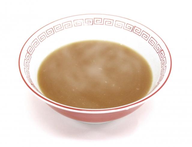 麺類のスープを飲まない