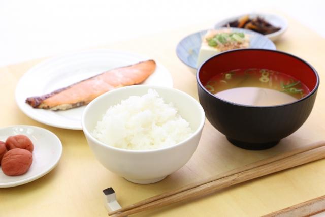 冷え性改善の食事 朝食