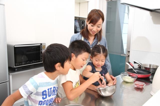 子供が家事を手伝いやすい間取りも意識する